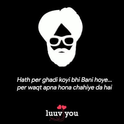 attitude status in punjabi for boy