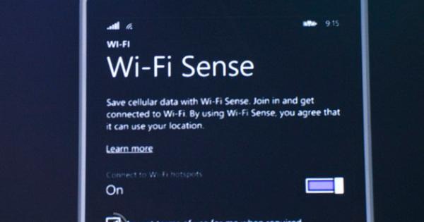 تعرف على الWifi Sense , التقنية الجديدة من المايكروسوفت على الويندوز 10