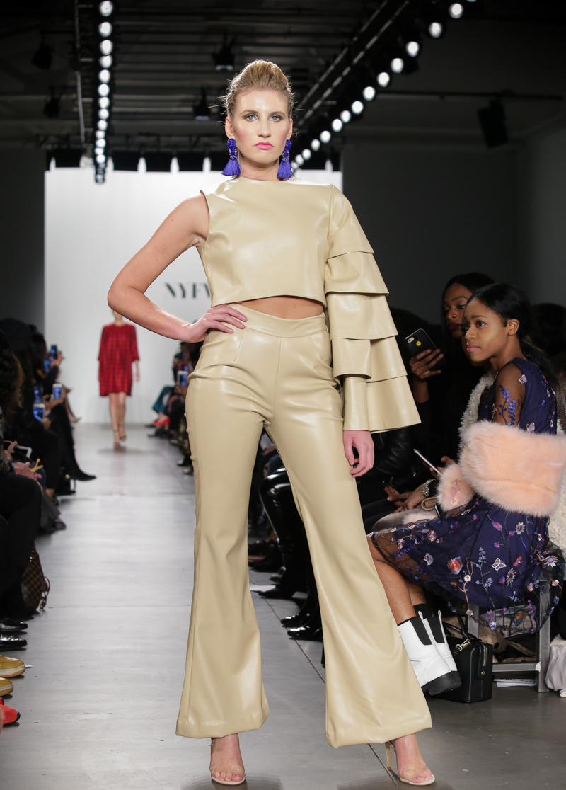 INIFD Student Designers in New York Fashion Week.