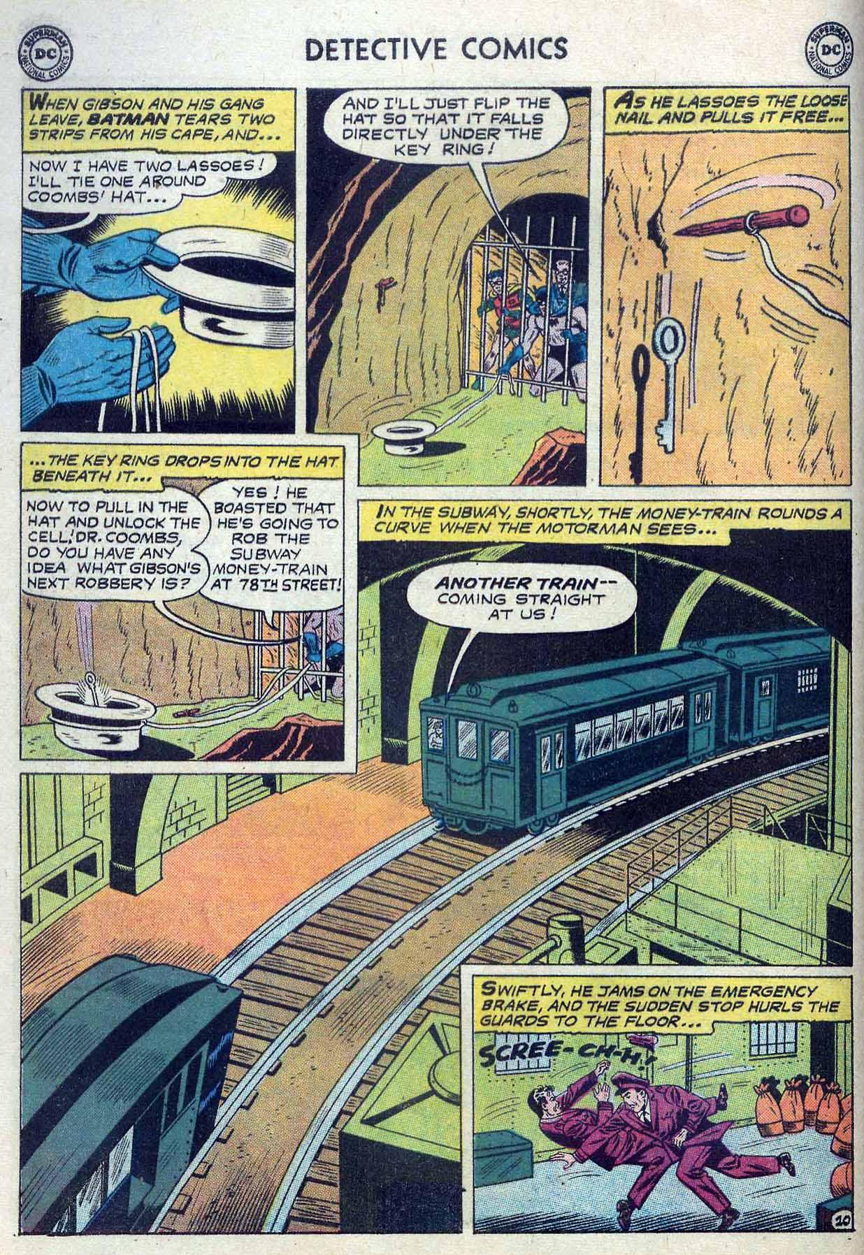 Read online Detective Comics (1937) comic -  Issue #262 - 12
