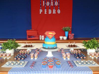 Resultado de imagem para festa superman clean