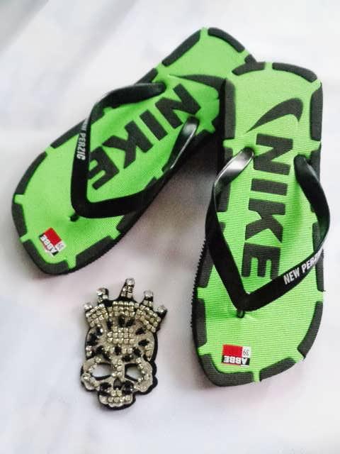 Sandal Murah Jepit Ferzic hijau nike
