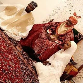siddika sanusi daughter of emir of kano marries Malam Abubakar Umar.