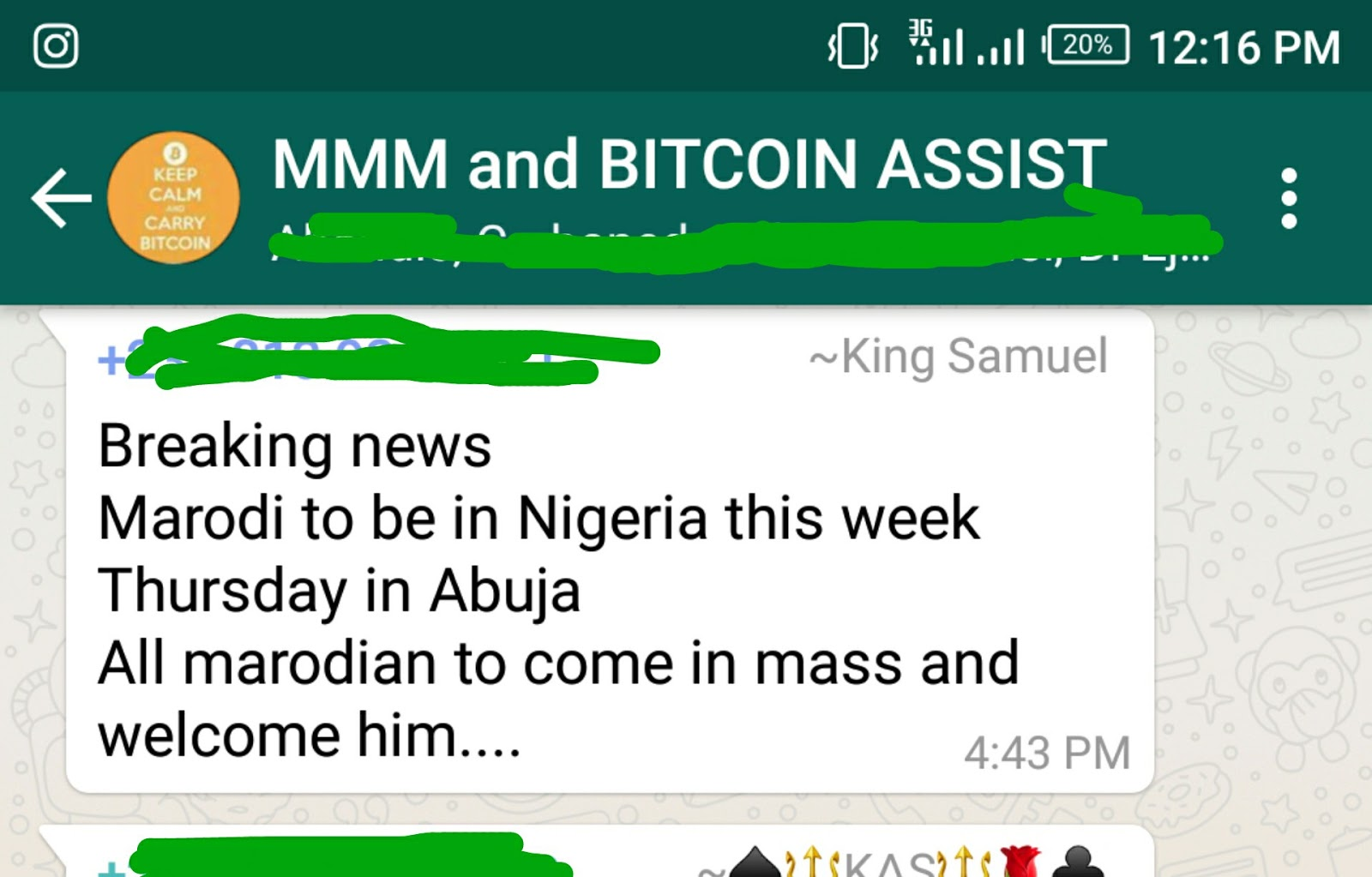 Bitcoin nigeria whatsapp group