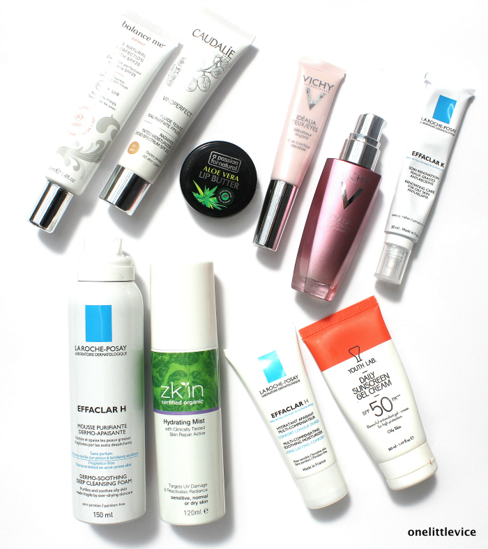one little vice beauty blog: skincare routine featuring drugstore and luxury products