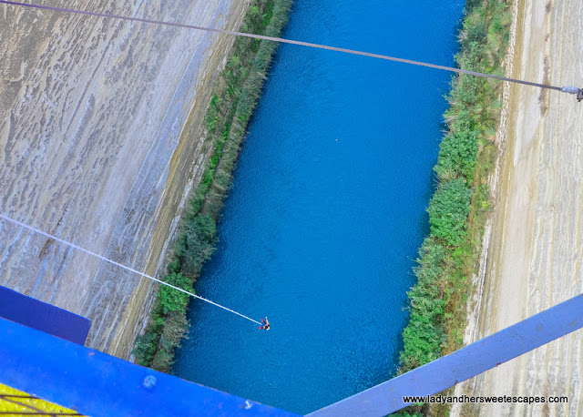 extreme bungy in Greece