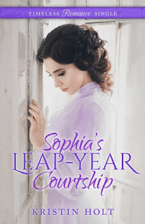 Heidi Reads... Sophia's Leap-Year Courtship by Kristin Holt