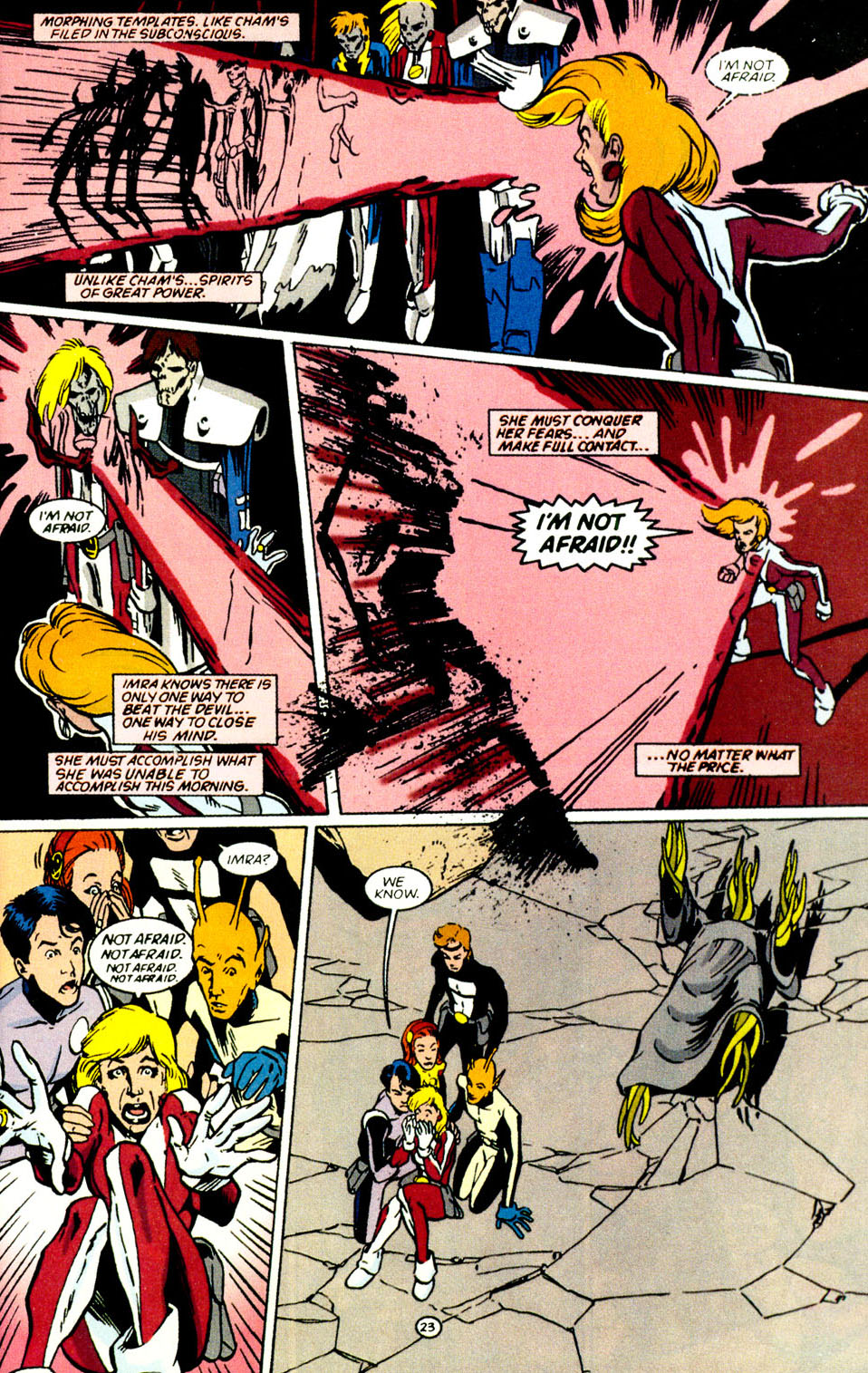 Legion of Super-Heroes (1989) 69 Page 24
