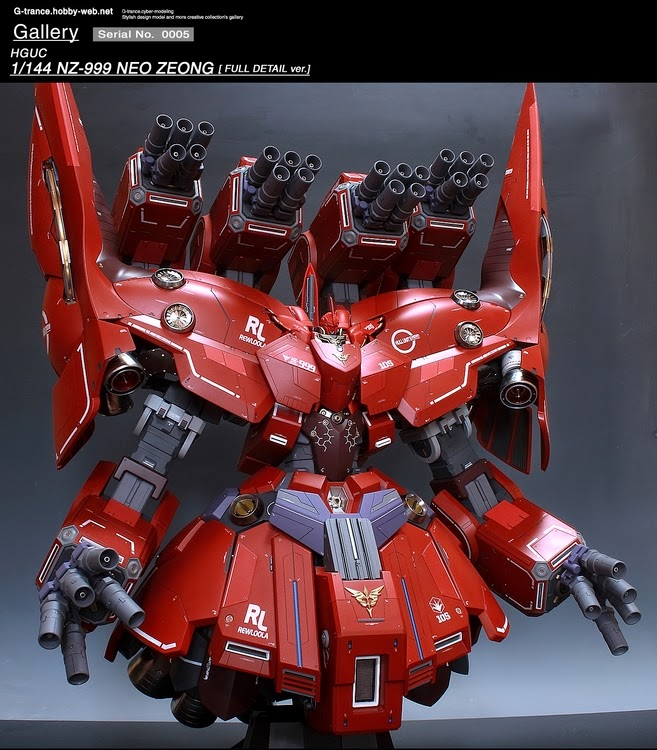 Custom Build: HGUC 1/144 NZ-999 Neo Zeong (High Detail Ver