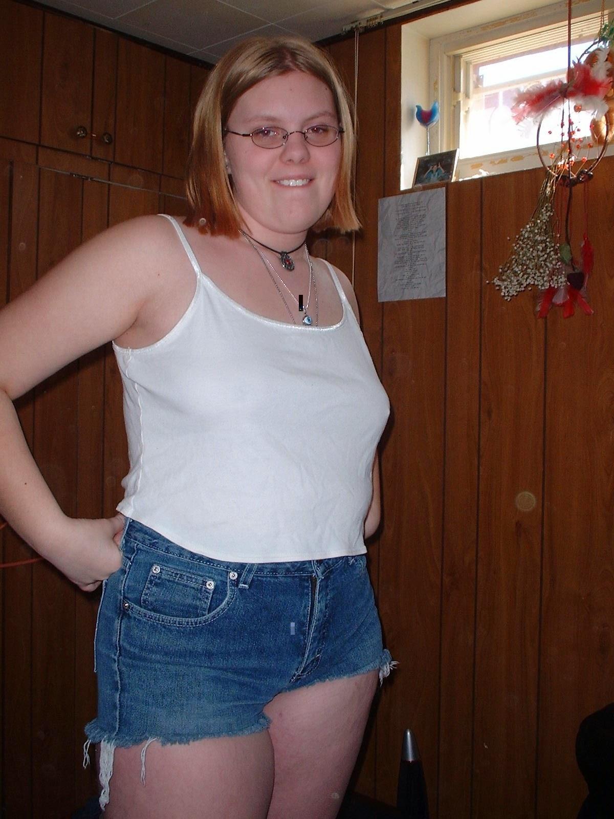 Chubby Teen Blonde Interracial
