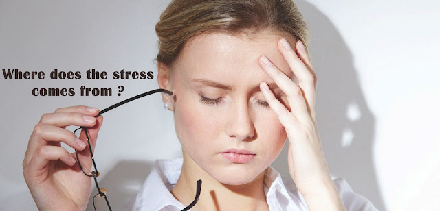 Where does the stress comes from ?