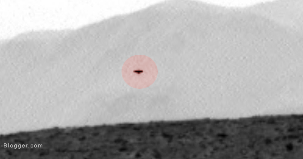 Mars Curiosity Photographed UFO On Mars - UFO News ...