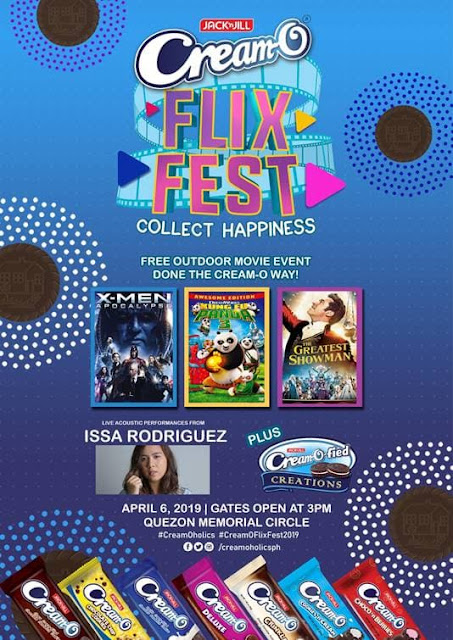 Get ready to collect happy experiences at the Cream-O Flix Fest 2019