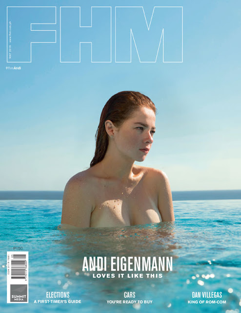 Andi Eigenmann on the cover of FHM May 2016 issue