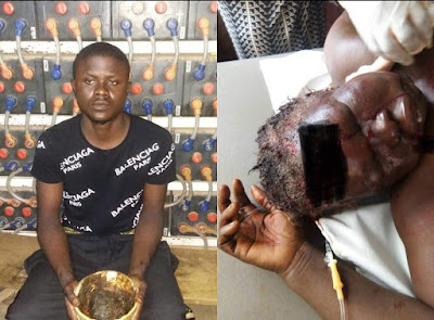 [PHOTOS] Son Attempts Killing Mother For 'Yahoo Plus'