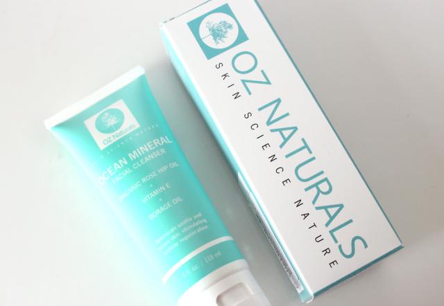 oz naturals ocean mineral cleanser, oz naturals, oz naturals skincare, oz naturals cleanser, oz naturals ocean cleanser, oz naturals uk