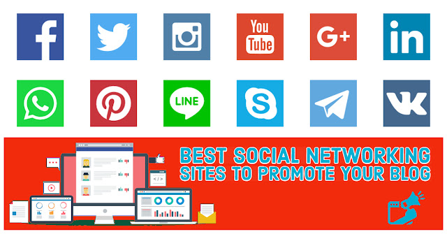 5 Best Social Networking Sites to Promote Your Blog - Mystery Techs