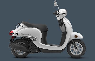 2016 Honda Metropolitan white color