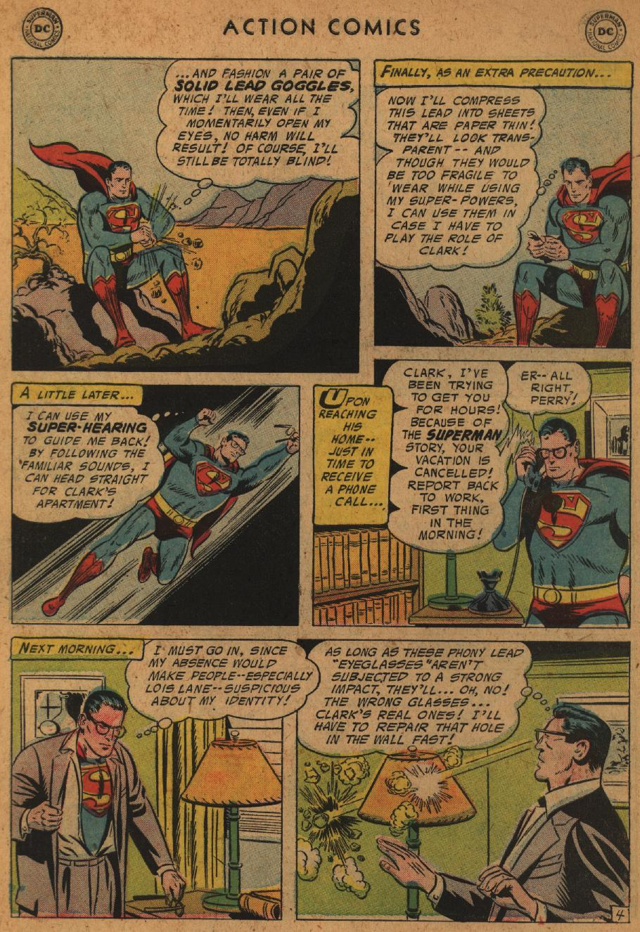 Read online Action Comics (1938) comic -  Issue #227 - 6
