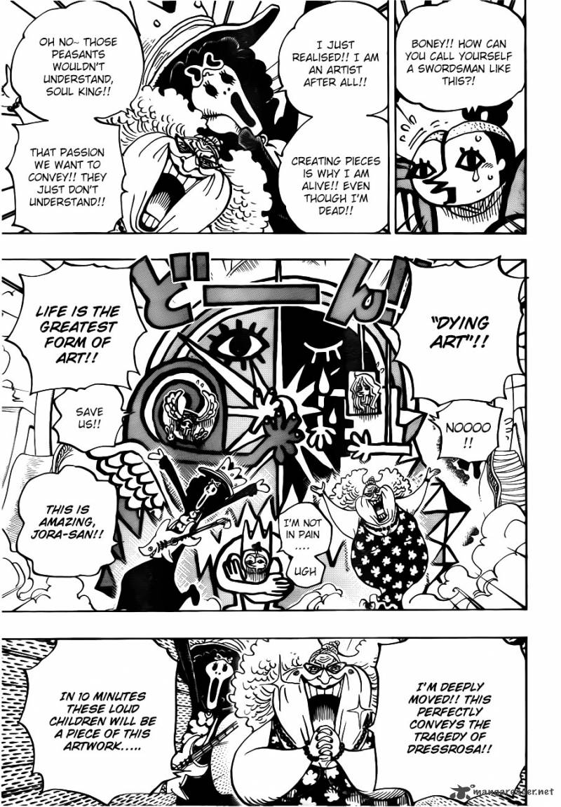 One Piece Ch 722: The Bloodline of Royalty