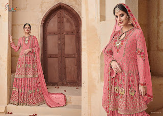 Eid Ramzan pakistani Suits: Shree fab Shehnai gold vol 2