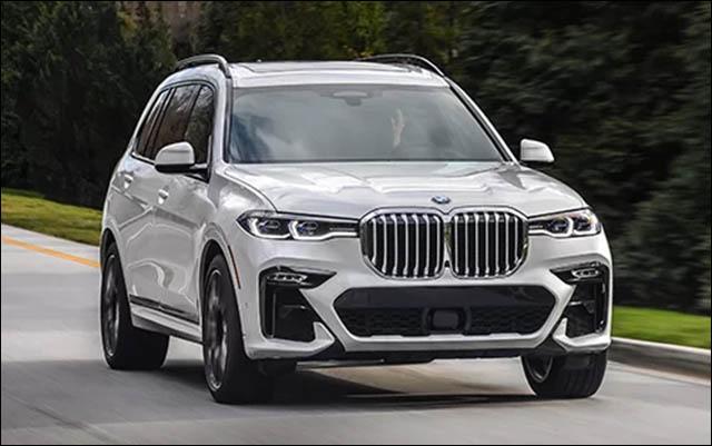 BMW X7 với lưới tản nhiệt cỡ lớn