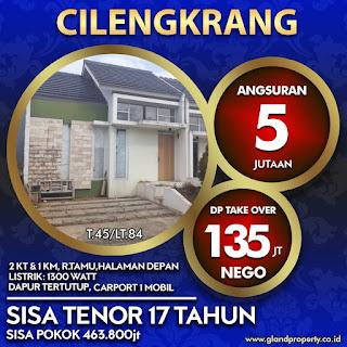 Rumah over kredit atau rumah takeover di cilengkrang