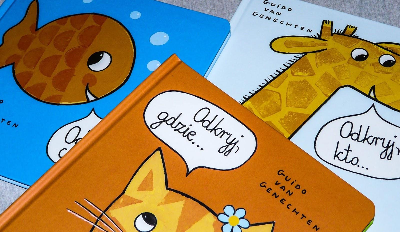 książki dla roczniaka, książki dla dwulatka, książki z okienkami