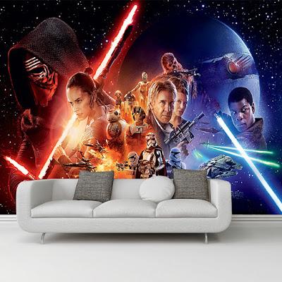 star wars fototapet The Force Awakens
