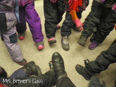 Snowky Pokey action song and winter activities for Kindergarten