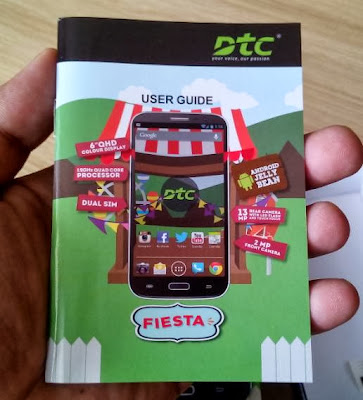 DTC Mobile GT15 Astroid Fiesta User Guide