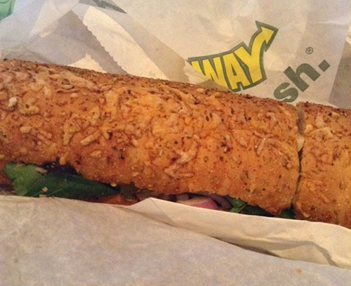 Try Subway New Carved Turkey sandwich on #NationalSandwichDay