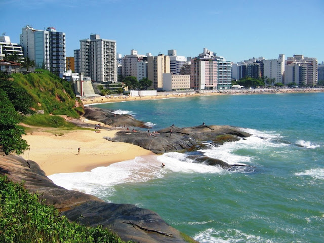 radiação alta em Guarapari - Espírito Santo - Brasil