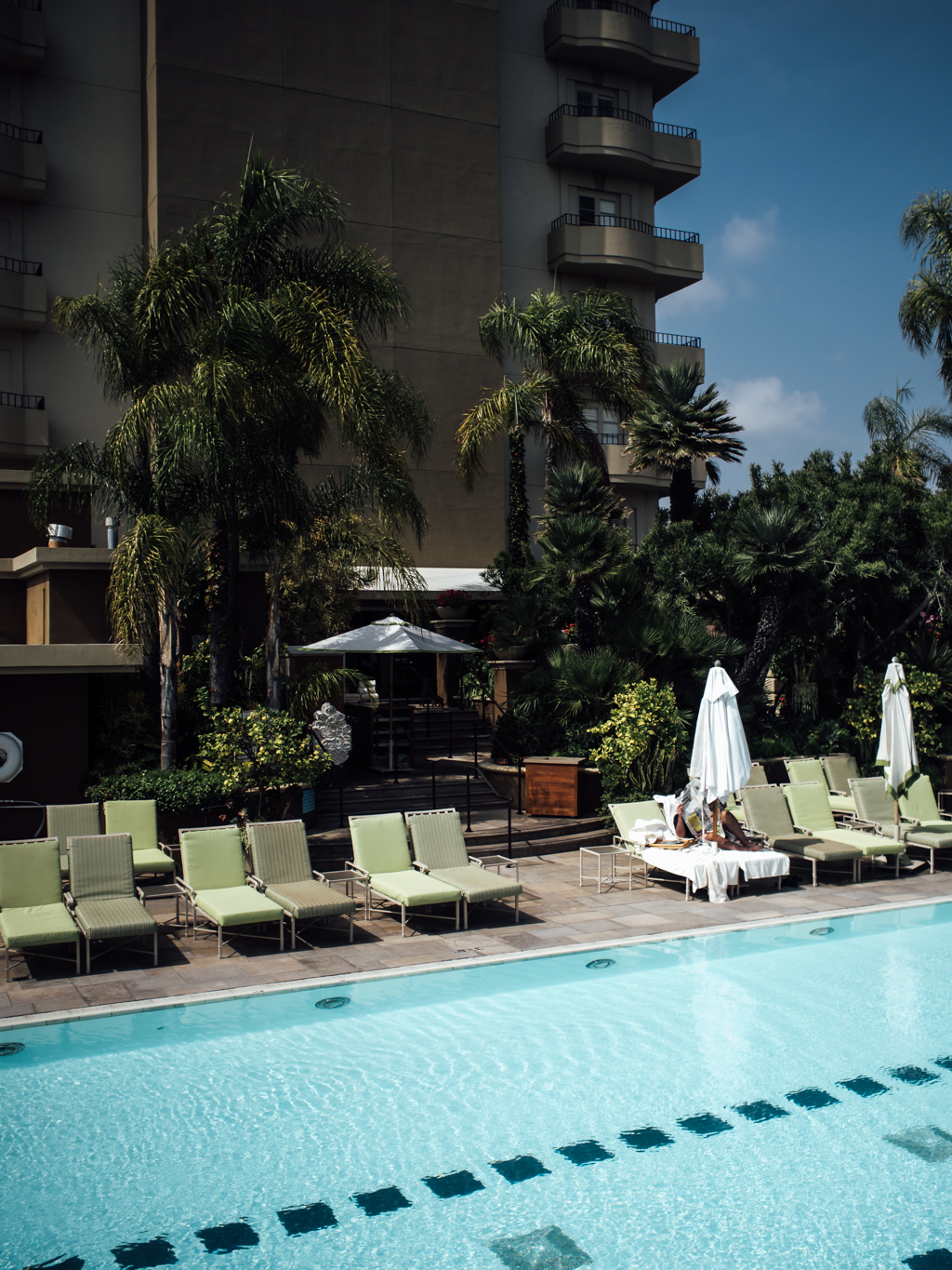 Happy Place - Poolside at the Four Seasons Beverly Hills