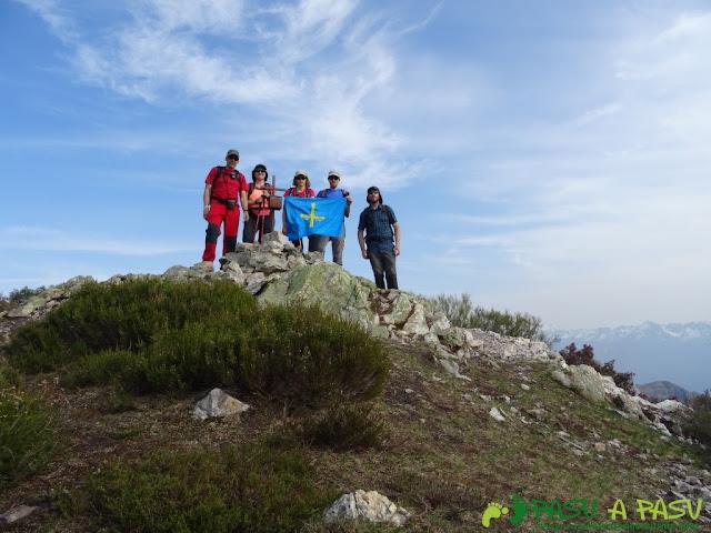 Cima del Pico Cuchu, Aller