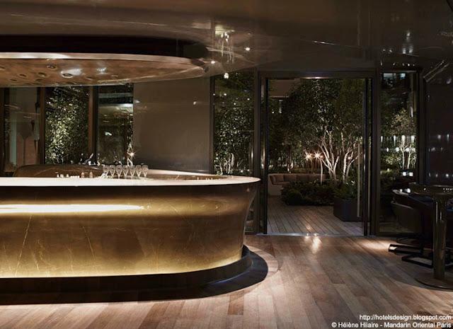 Les plus beaux hotels design du monde h tel mandarin for Hotel design paris 8
