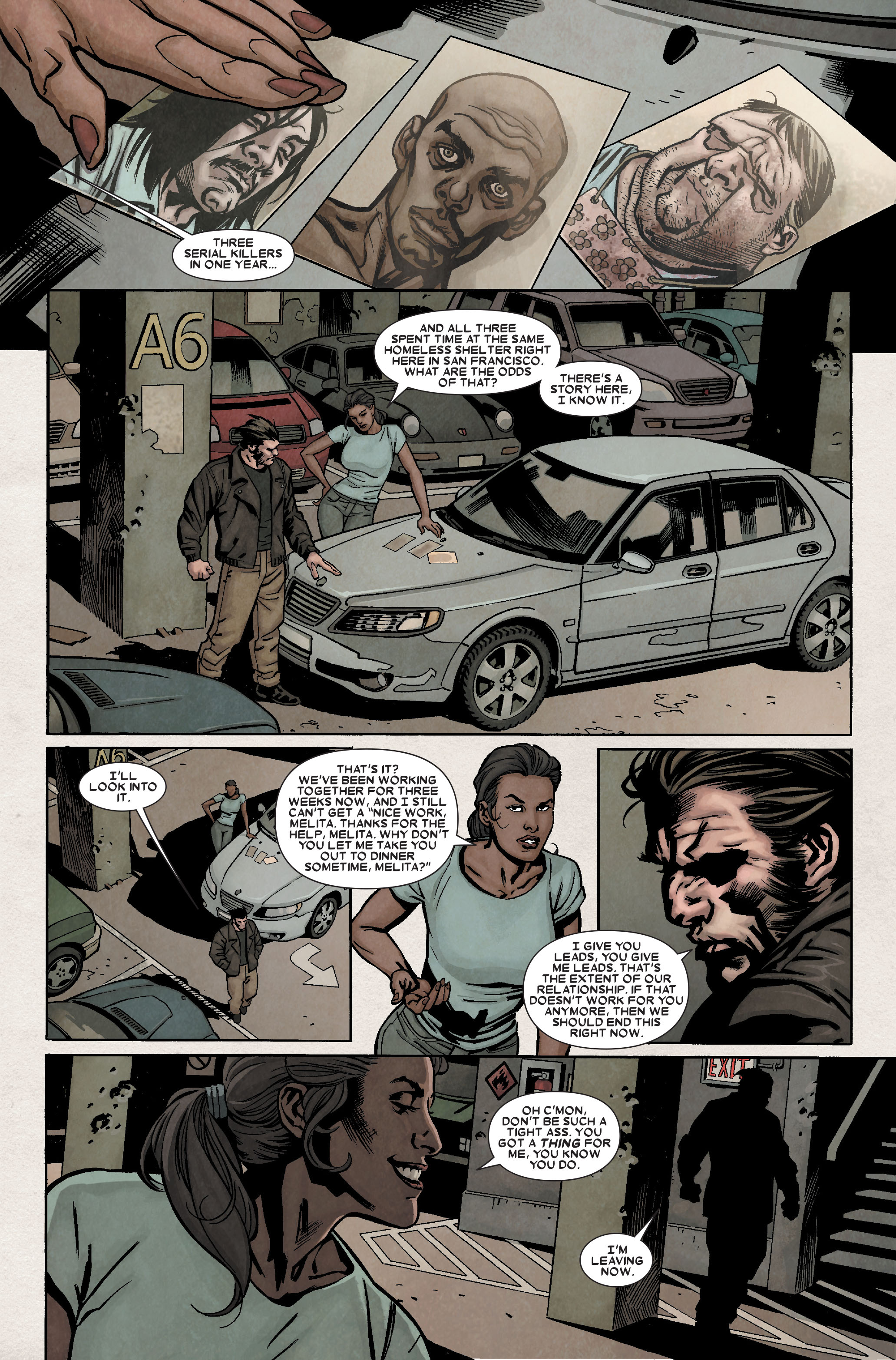 Read online Wolverine: Weapon X comic -  Issue #8 - 10