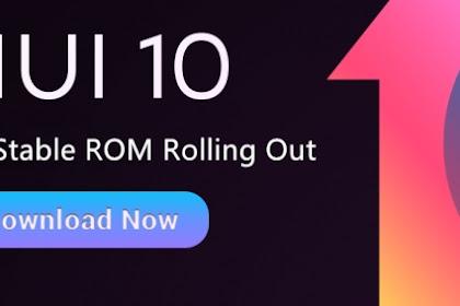 Download Dan Beberapa Cara install MIUI 10 China Stabil untuk Redmi Note 4 / 4x Snapdragon [mido]