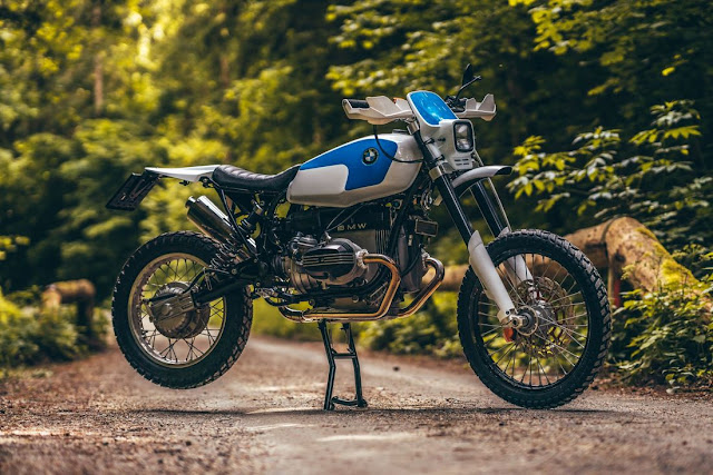 BMW R80GS By NCT Motorcycles Hell Kustom