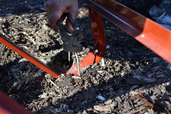 Wire to hold down wheelbarrow: Wheelbarrow Planter | DIY Playbook