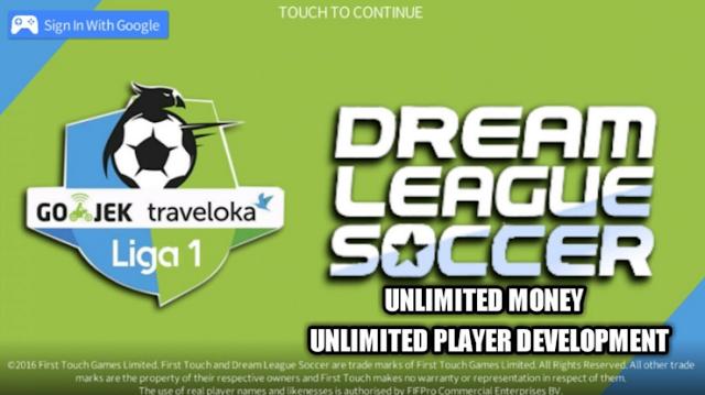 Download Dream League Soccer 2019 Apk Mod Gojek Traveloka Liga 1 Indonesia