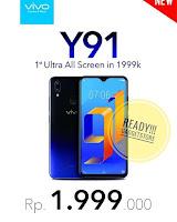 Apakah Vivo Y91 sudah mendukung Fast Charging?