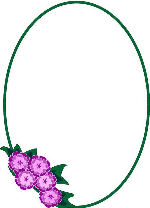 clip art oval frames free - photo #5