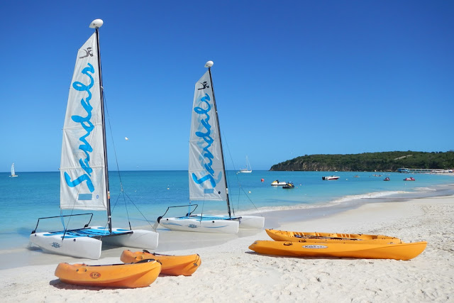 Dickenson Bay Antigua water sports