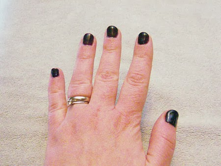 Couture Gel Nail Polish manicure update