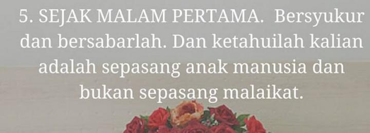 Untukmu yang Hendak Menikah, Jangan Abaikan Hal Ini Agar Tak Menyesal!