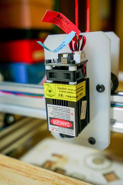 Modul Laser 2500mW dilengapi dengan kipas pendingin