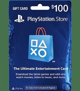 Thẻ gift card playstation psn hệ us 100$ <br> <br> 2.250.000 VNĐ