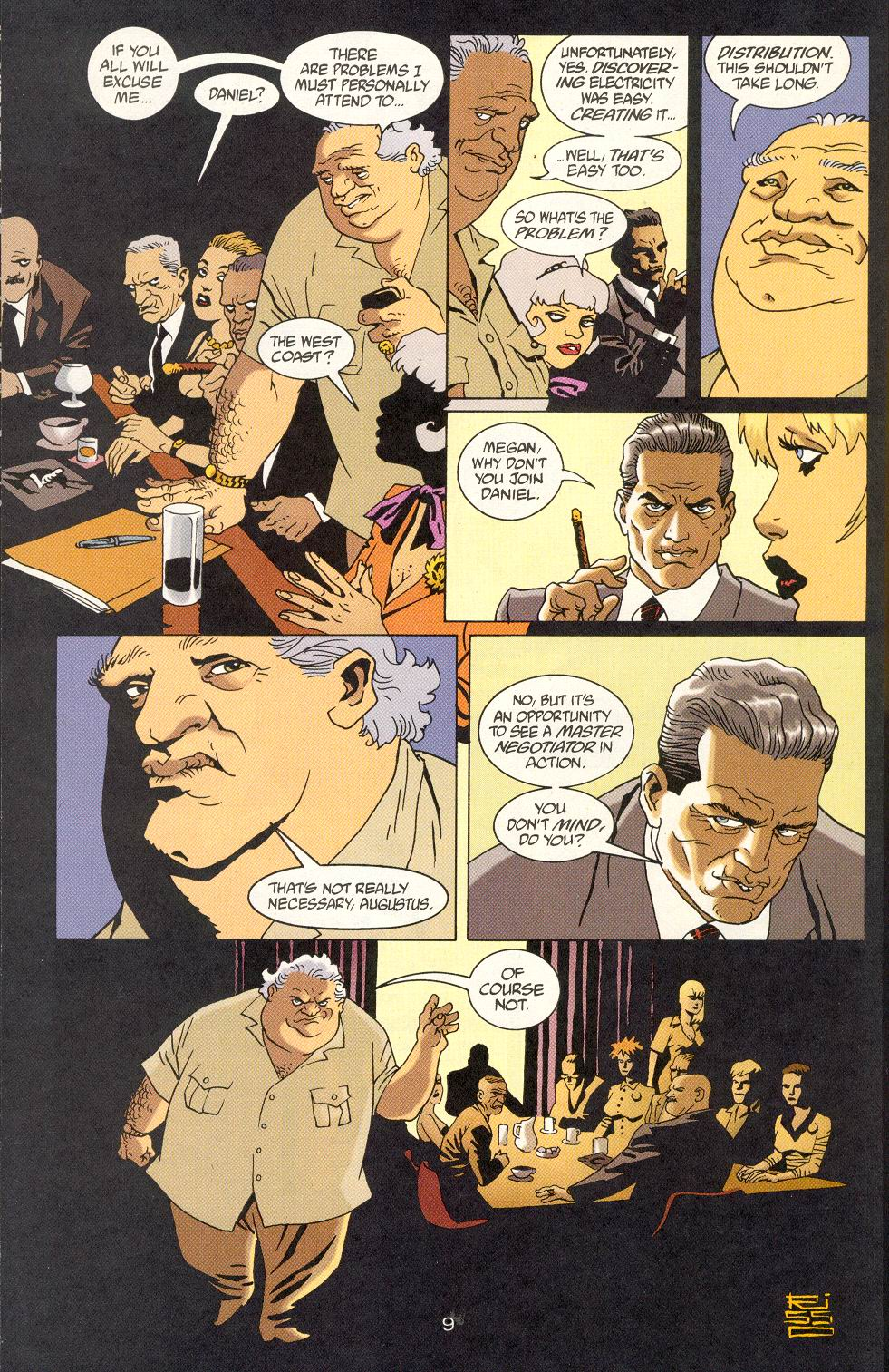 Read online 100 Bullets comic -  Issue #25 - 11