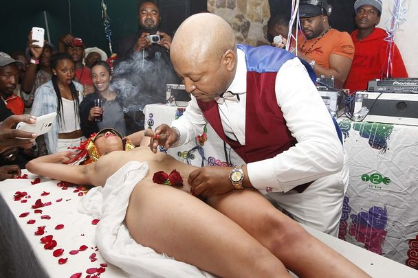 People Having Sex On Birthday Cake